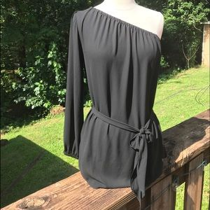Beautiful Off the Shoulder Blouse by Ann Taylor.